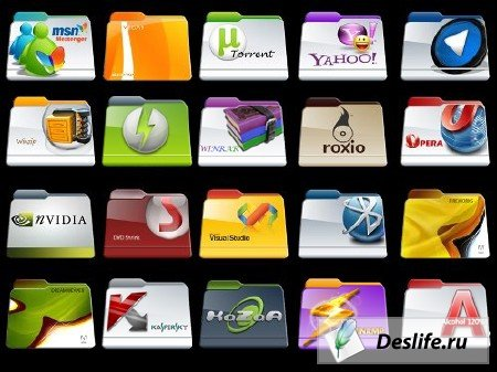 Program Files Folders Icons - Иконки