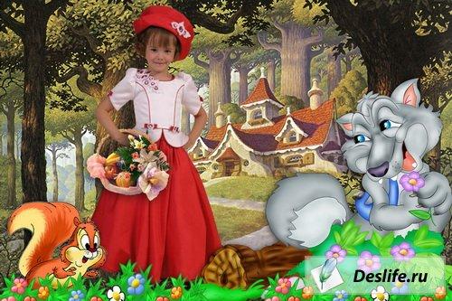 Маленькая красная шапочка - Детский костюм