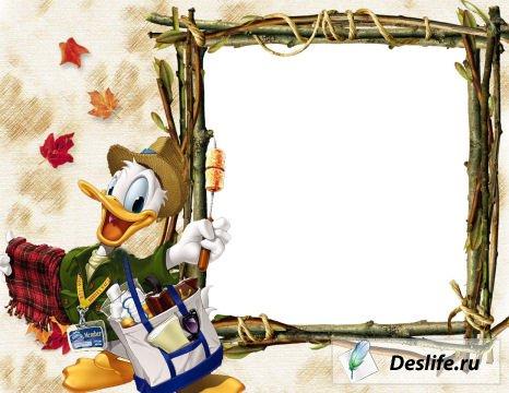 Дональд Дак - Рамка для фото