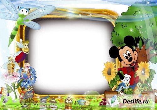 Микки Маус - Рамка для фото