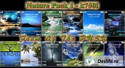 Nature k750 vol.1 - Темы для Sony Ericsson[176x220]