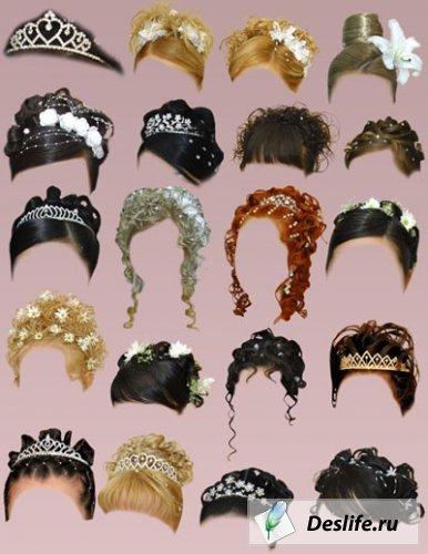 Женские нарядные причёски