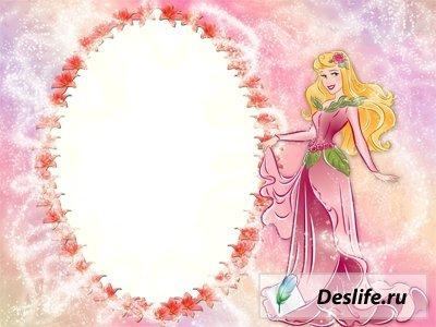 Сказочная принцесса - Детская рамка для фото