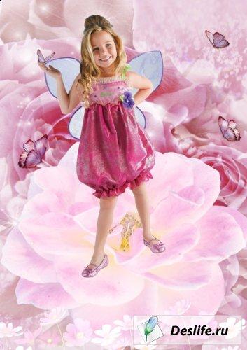 Бабочка - Костюм для фотошоп