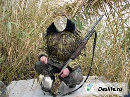 Костюм для фотошопа - Охотник с утками