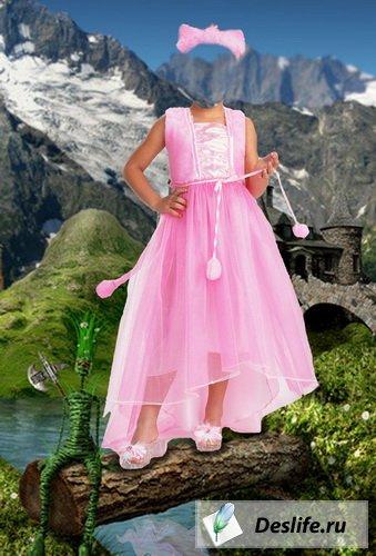 Девочка из сказки - Костюм для фотошоп