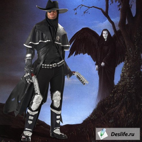 Охотник на ведьм - Костюм для фотошоп