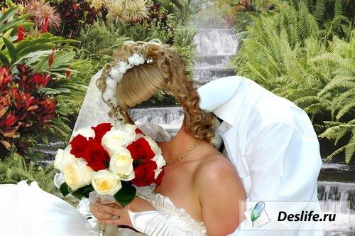 Свадебный костюм невесты для фотошоп
