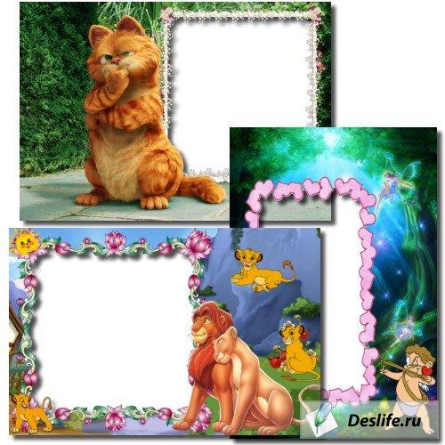 Детские рамки для фотошоп