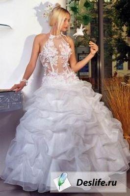 Различные фасоны свадебных платьев