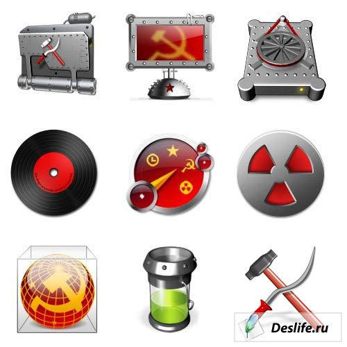 Советские времена - Иконки