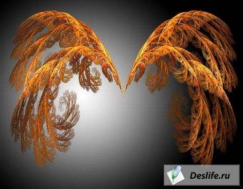 Золотые крылышки ангела