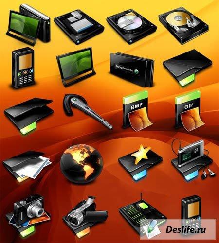 Иконки в стиле Sony Ericsson