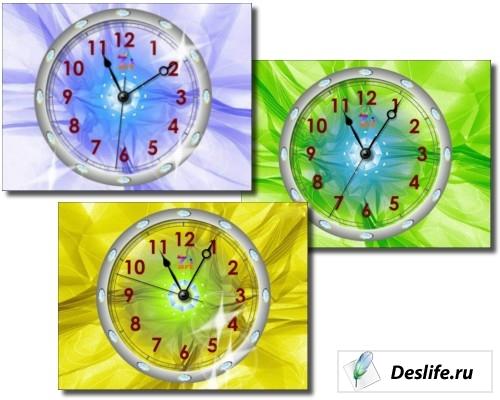 Crystal Clock Screensaver 2.4 - Кристальный скринсейвер
