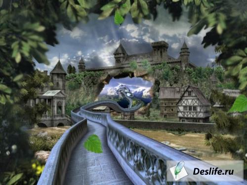 Fantasy Zoom Screensaver - Фантастические миры