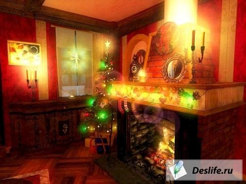 Волшебное рождество - Скринсейвер