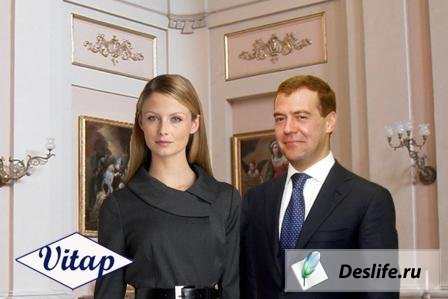 Костюм для фотошопа – С Медведевым