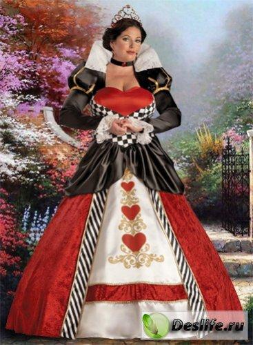 Светская дама - Костюм для фотошопа