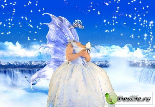 Ангел - Костюм для фотошоп