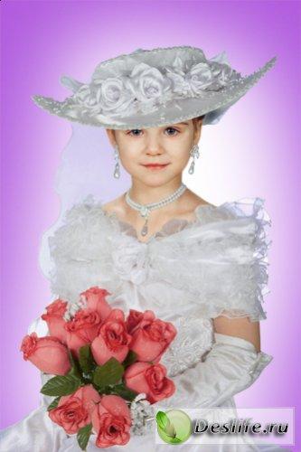 Юная Леди - 3 - Костюм для фотошоп