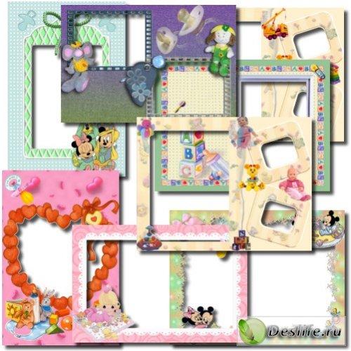 Рамки фотошоп для малышей