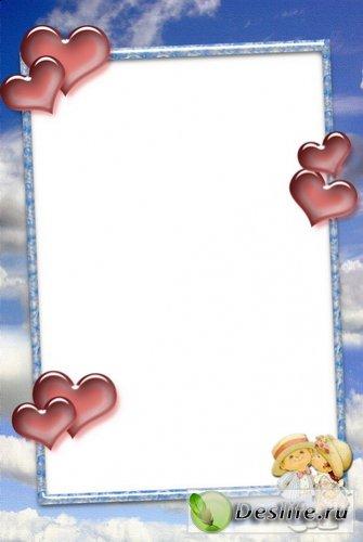 Сердечки - Рамка для фото