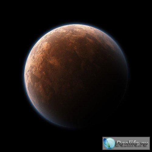 Рисуем планету - Урок Фотошоп