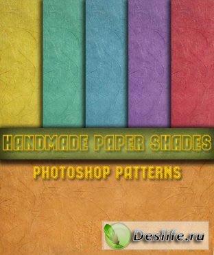 Текстурная цветная бумага - Набор заливок