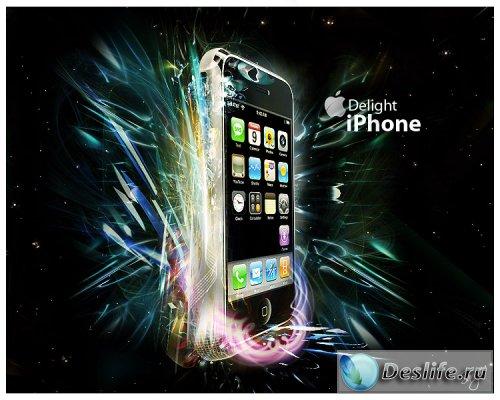 iPhone - PSD исходник