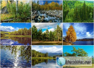 Обои для рабочего стола - Природа Сибири