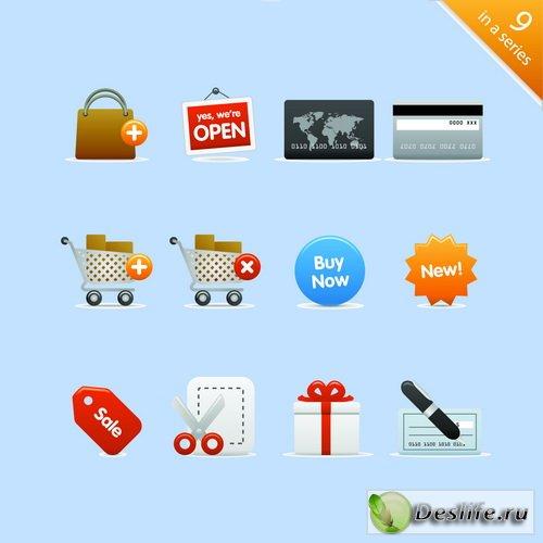Набор иконок владельцам интернет магазинов