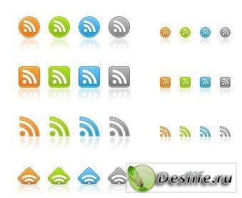 Очередные RSS иконки