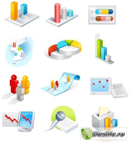 Бизнес - Векторный клипарт