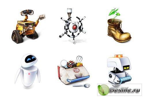Wall-e - Иконки героев из мультика