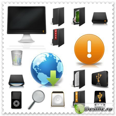 Компьютерная тематика - Иконки