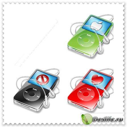 Apple iPod - Иконки