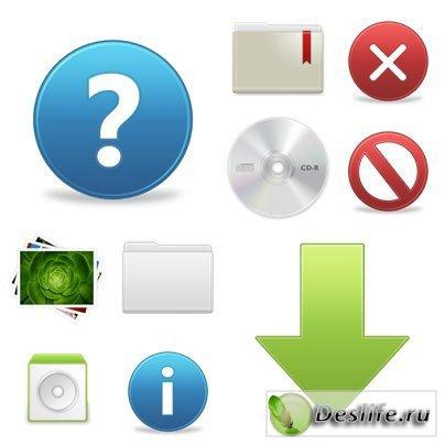 Иконки в стиле web 2.0