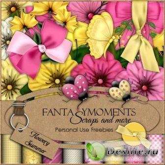 Скрап-набор – Цветочное Лето (Flowery Summer)