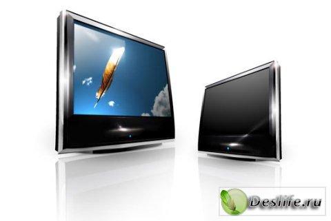 LCD телевизоры - Иконки