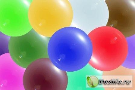 Клипарт – Стеклянные шары