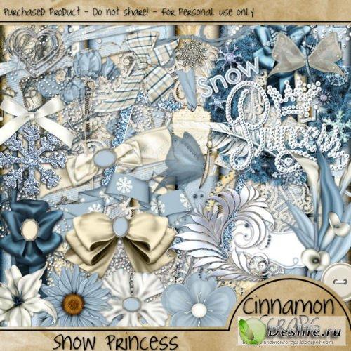 Скрап-набор – Snow princess / Снежная принцесса