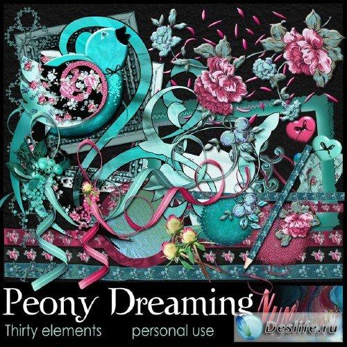 Скрап-набор - Peony Dreaming