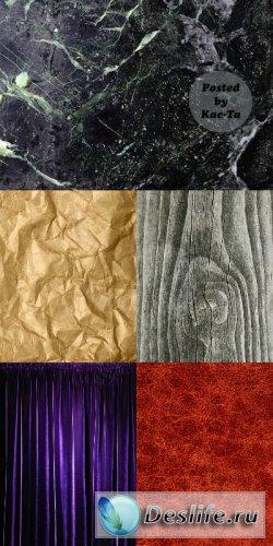 Пак разнообразных текстур