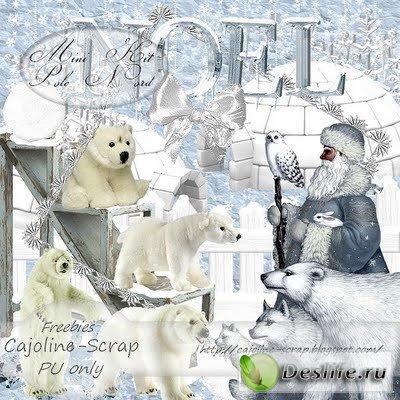 Скрап-набор – Pole Nord / Северный полюс