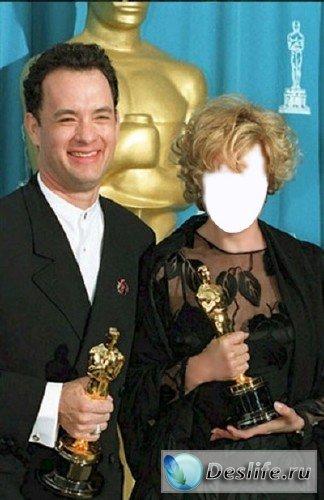 Шаблон для фотошопа - Оскары