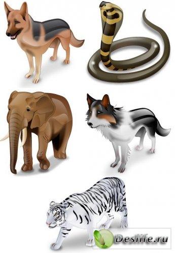 Животные - Иконки