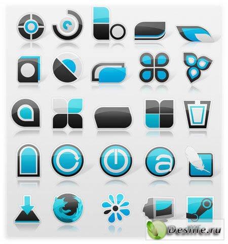 Креативный набор иконок