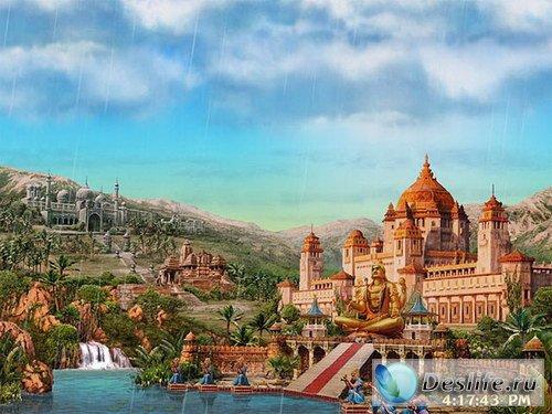 Скринсейвер - Around the World: India