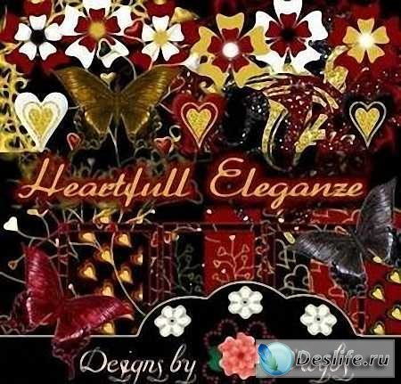 Скрап-набор – Heartfull Eleganze