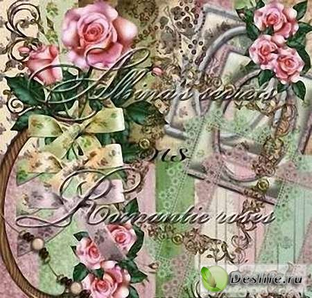 Скрап-набор – Romantic Roses